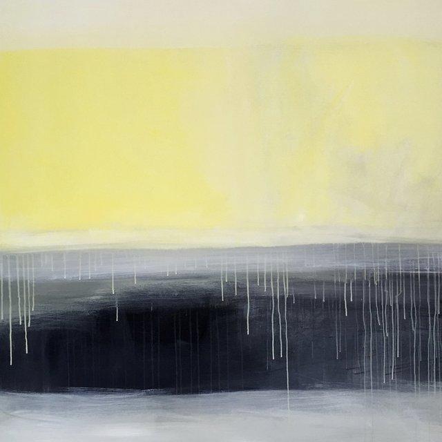 , 'Yellow Horizon,' 2018, Ginger Fox Gallery