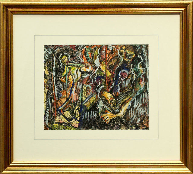 Alfred Morang, 'Figures in the Abstract ', 1955, The Matthews Gallery