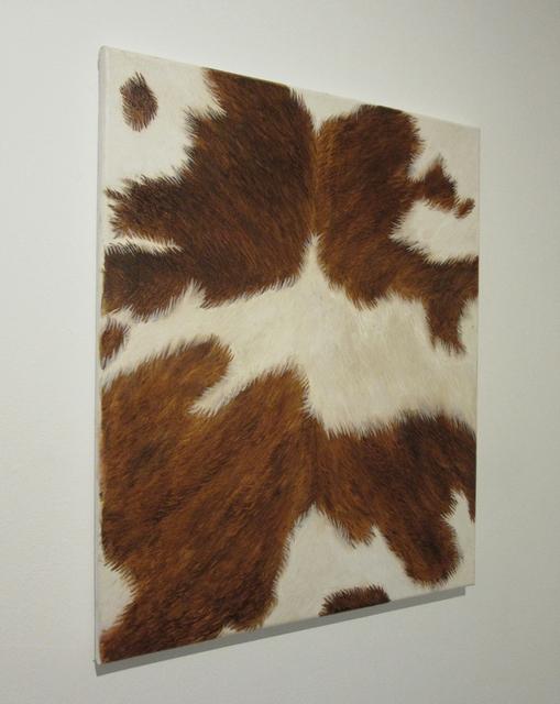 , 'Cowhide (Brown),' 2014, Castor Gallery