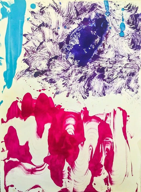 , 'Untitled (Monotype 9),' 2015, Cross Contemporary Partners