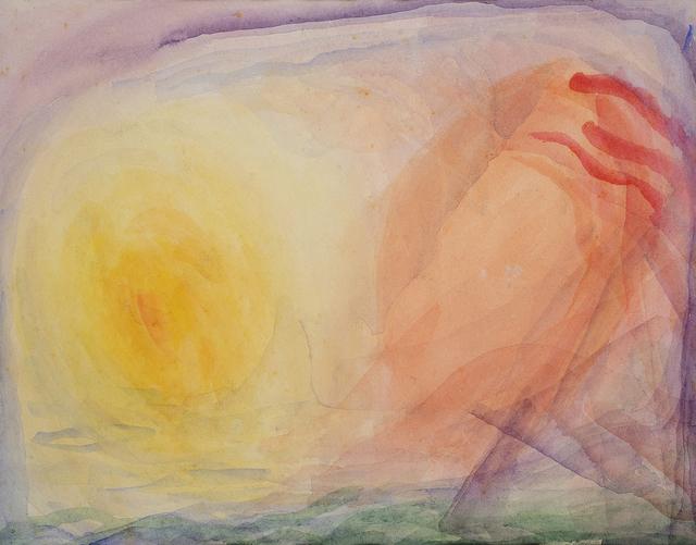 , 'Solar lines,' ca. 1950, Charles Nodrum Gallery