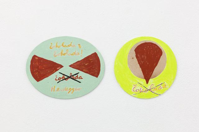 , 'Chocolate – Heidegger ,' 2015, Galerie Martin Janda