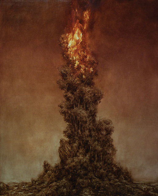 , 'Black Lung (Burning Tree 1) ,' , OLSEN GALLERY