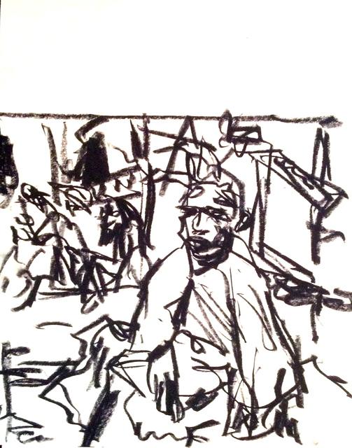 , 'Pensive Monk,' 2015, Stuart & Co. Gallery
