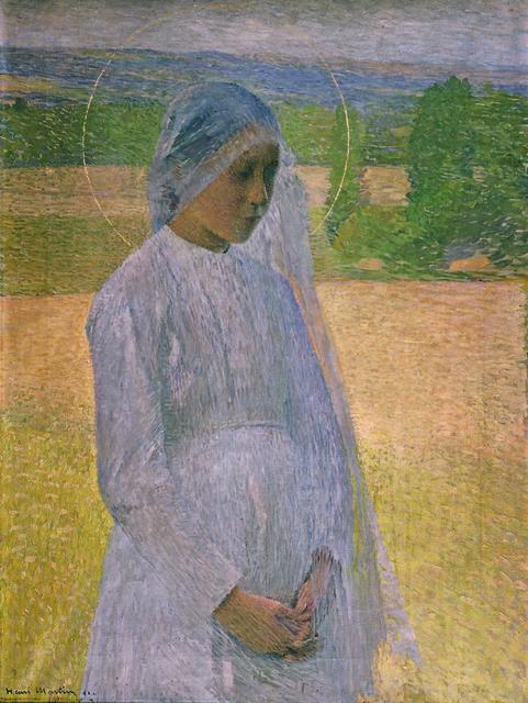 , 'Young Saint (Jeune sainte),' 1891, Guggenheim Museum