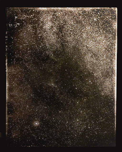 , 'October 13, 1893 (Starfield bright star lower left),' 2014, Haines Gallery