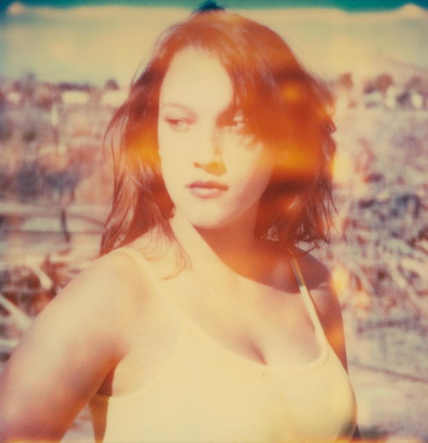 Stefanie Schneider, 'Looking back', 2005, Photography, Digital C-Print print, based on a Polaroid, Instantdreams