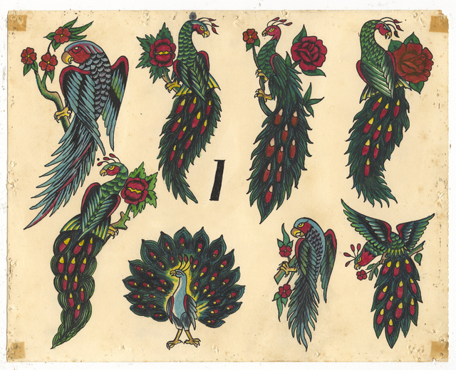 , 'Untitled (Peacocks),' ca. 1950, Ricco/Maresca Gallery