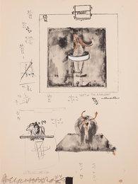 Sketch for Monogram, 1959