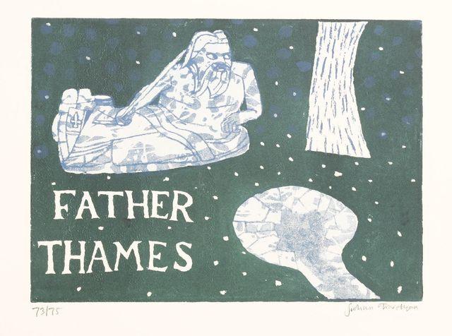 Julian Trevelyan, 'FATHER THAMES (Turner 220)', 1969, Sworders