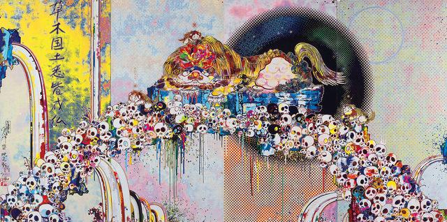 Takashi Murakami, 'As The Interdimensional Waves Run Through Me', 2012, Dope! Gallery