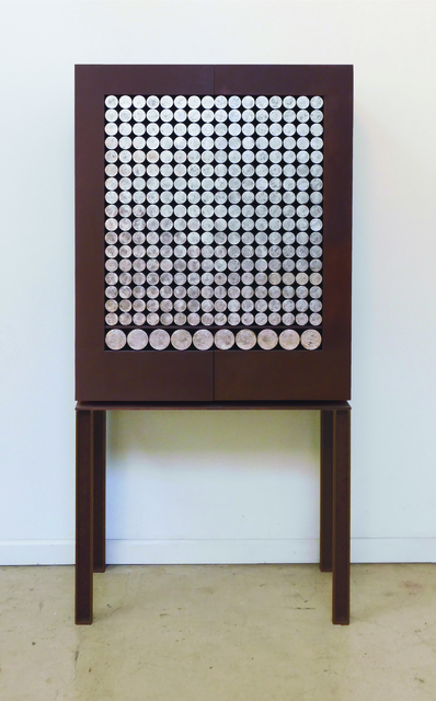, 'Silver Circles Cabinet,' , PILAR CLIMENT