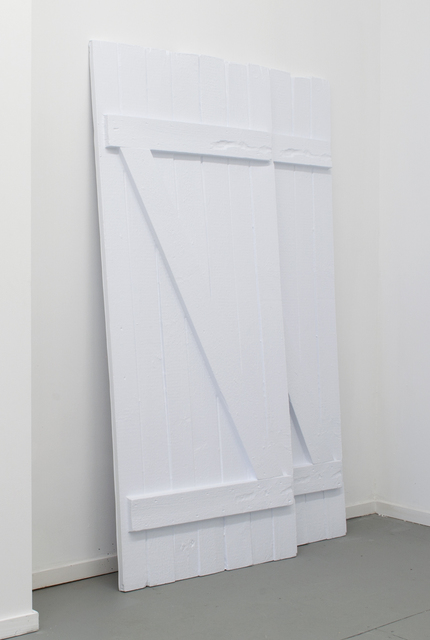 , 'Two barn doors ,' 2015, CINNNAMON