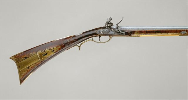 Jacob Kuntz, 'Flintlock Rifle', ca. 1810–1815, The Metropolitan Museum of Art