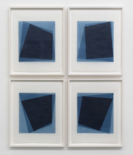 , 'Untitled, 2016-0105-/-0108,' 2016, Walter Storms Galerie