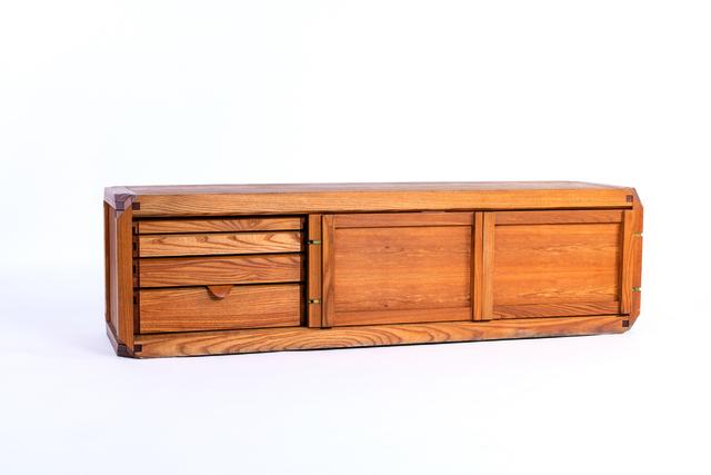 Pierre Chapo, 'BEL sideboard in elm', vers 1970, Leclere