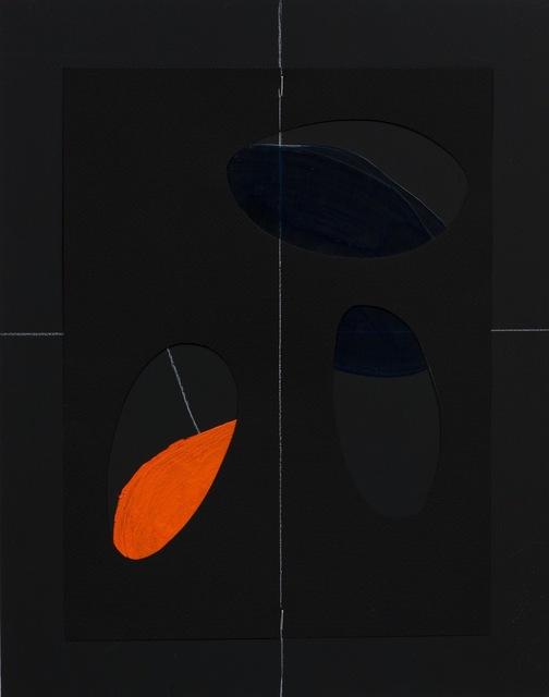 """, 'Geografías corporales II """" Color negro"""",' 2009, Gallery Elena Shchukina"""