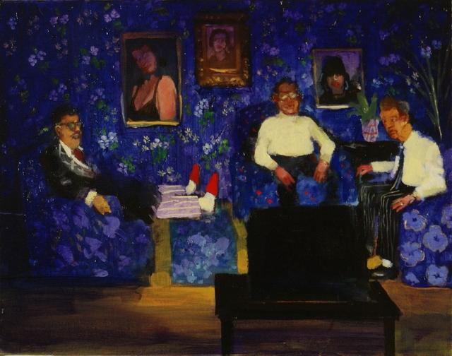 , 'Television Room,' 2015, Galerie de Bellefeuille