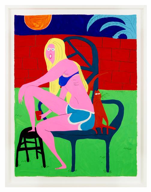 , 'Large Drawing #1,' 2015, Lazinc