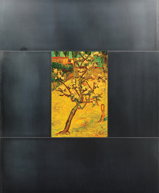 , 'Solitary Tree, Locked in Migration, to Van Gogh,' 1993, Galerie de Bellefeuille