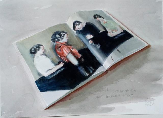 "Marta & Slava, 'This is Michaël Borremans, not Damien Hirst""', 2018, PontArte"