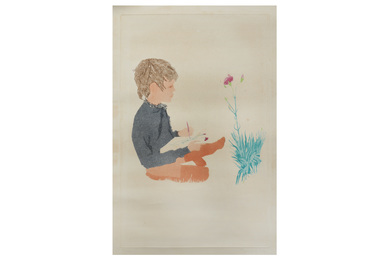 Boy with carnation