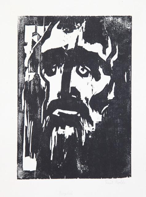 , 'Prophet,' 1912, Henze & Ketterer