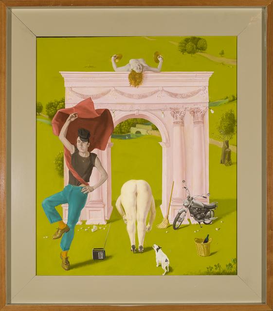 Honoré Sharrer, 'Roman Landscape', 1990, Painting, Oil on canvas, Hirschl & Adler