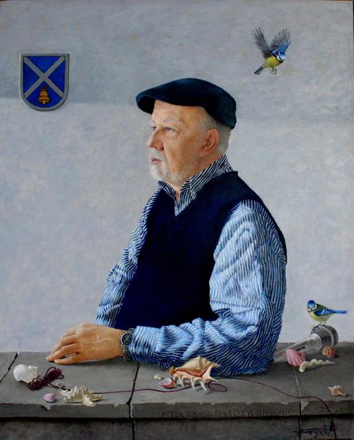Tatyana Palchuk, 'Portrait of a man', 2019, Painting, Oil on linen, Alessandro Berni Gallery