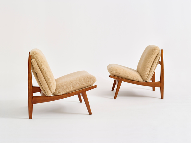 , 'Pair of 790 Chairs,' ca. 1960, Demisch Danant