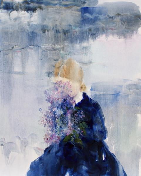 , 'Lake (Lilac Water),' 2019, Bau-Xi Gallery