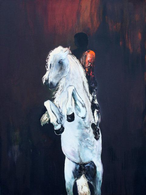 , 'The Dark Rider,' 2015, Albemarle Gallery | Pontone Gallery