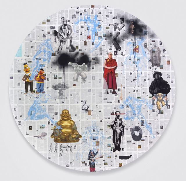 , 'Friends Forever (Mandala),' 2015, Anthony Meier Fine Arts