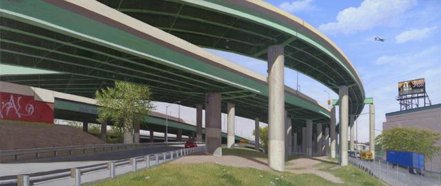 , 'Bronx Overpasses,' 2013, Susan Eley Fine Art
