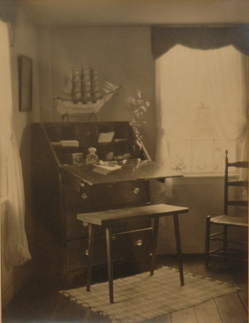 , 'Untitled (interior with writing desk),' 1921, Robert Mann Gallery