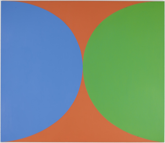 , 'Blue Green Red II,' 1965, Seattle Art Museum