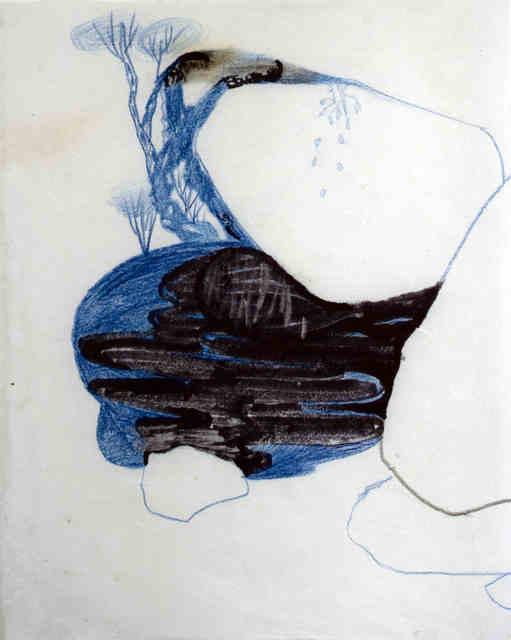 Youjin Yi, 'Spiegel in Blau', 2018, Galerie Britta von Rettberg