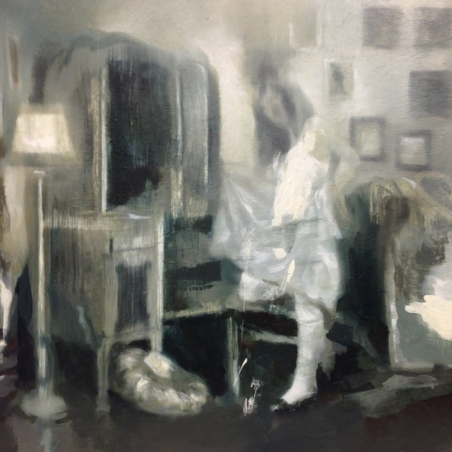 , 'Interiørstudie III: Omkledningsrommet,' 2016, Galleri Brandstrup