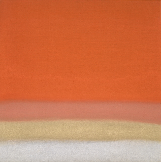 , 'Untitled (Orange/Gold),' 2018, Berry Campbell Gallery