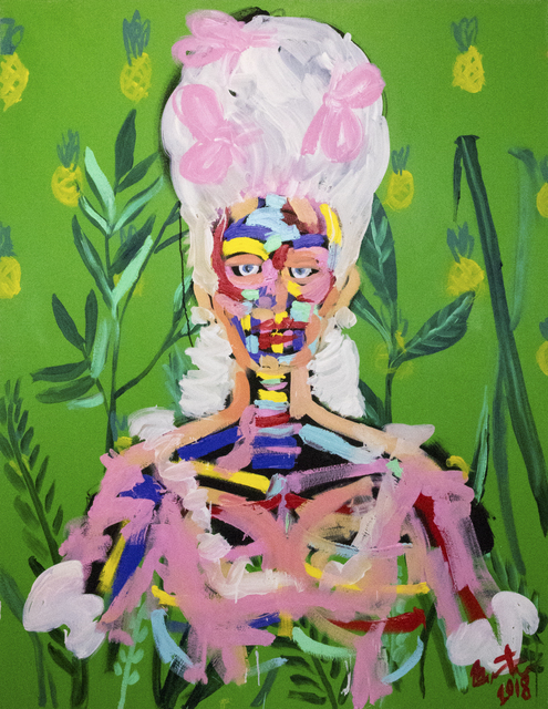 , 'Pineapple and The Princess ,' 2018, Maddox Gallery