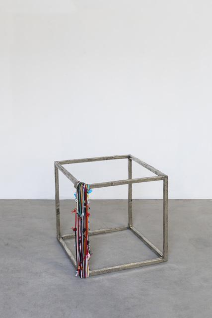 , 'Cubo con perimetro,' 2018, SPROVIERI