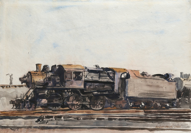 , 'Locomotive,' 1929, Questroyal Fine Art