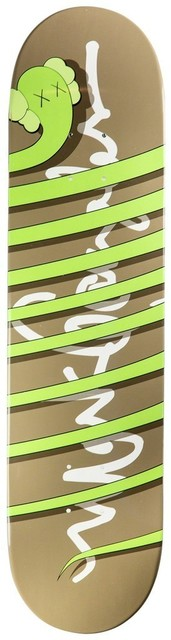 KAWS, 'Kaws x Krooked Skateboard (hand signed)', 2004, MSP Modern Gallery Auction