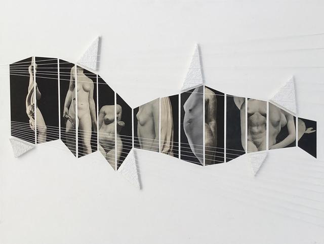 , 'Collage 19,' 2016, Galerie Les filles du calvaire