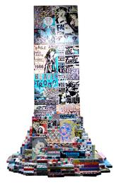 FAILE, 'FAILETower,' 2010, Fine Art Auctions Miami: Major Street Art