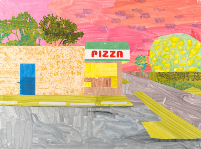 , 'Pizza (Roccos, West St. Paul),' 2017, Highpoint Editions