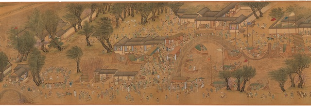 , '청명상하도 清明上河圖 (Along the River During the Qingming Festival),' , National Museum of Korea