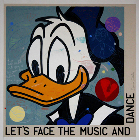 , 'Let's Face The Music and Dance (Donald) ,' 2009, Long-Sharp Gallery