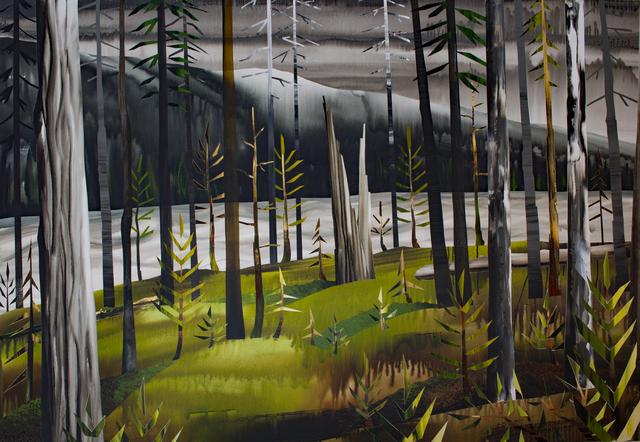 , 'Along the Blackstone,' 2017, Peter Robertson Gallery