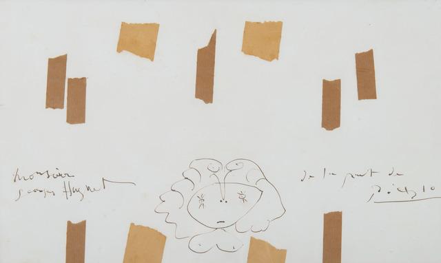 Pablo Picasso, 'Buste de femme', 1945, HELENE BAILLY GALLERY